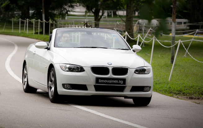BMW 320i Cabriolet Car Rental