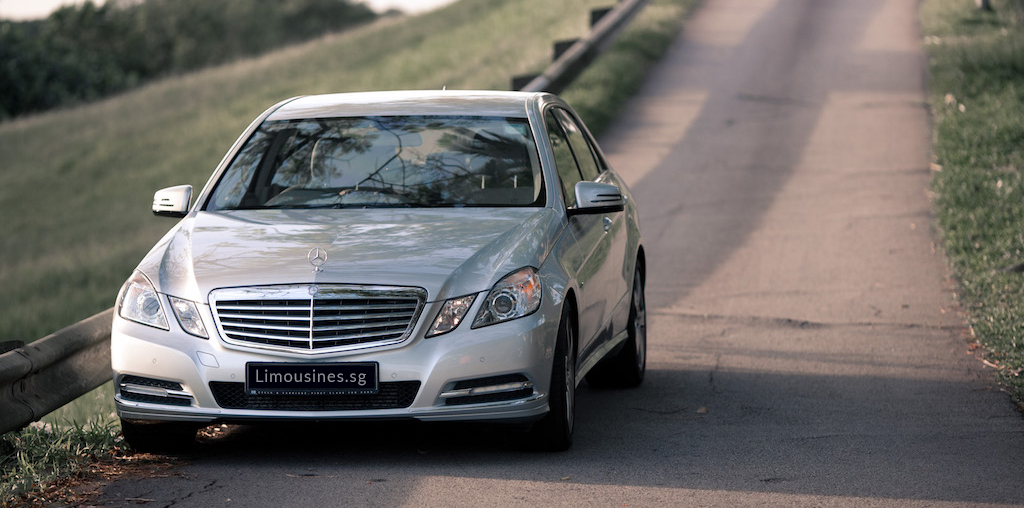 Mercedes E Class Limousine with Chauffeur Singapore