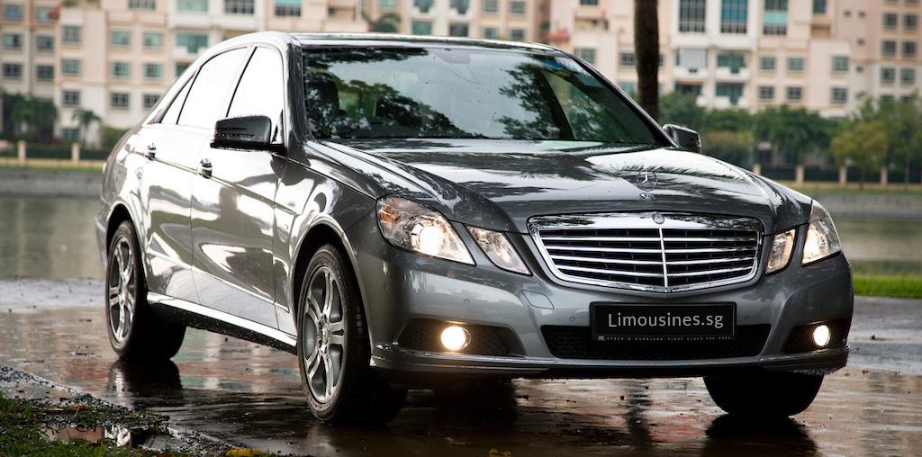 Mercedes E Class with Chauffeur Singapore
